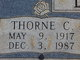 Profile photo:  Thorne Carlton Bobbitt