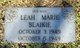 Profile photo:  Leah Marie Blaikie
