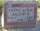 Profile photo:  Perry Avon Baldwin