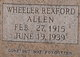 Wheeler Rexford Allen