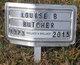 Profile photo:  Louise B. <I>Brown</I> Butcher