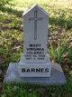 Profile photo:  Mary Virginia <I>Clark</I> Barnes
