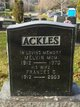 Profile photo:  Frances Gould <I>Miller</I> Ackles