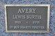 "Profile photo:  Lewis Burtis ""Burt"" Avery"