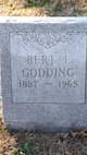Bert Lincoln Godding