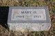 Profile photo:  Mary <I>Founds</I> Day