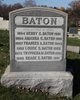 Profile photo:  Henry Clay Baton
