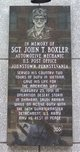 Sgt John Thomas Boxler I