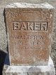 Walter N Baker