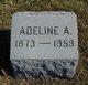 Profile photo:  Adelaide <I>Petee</I> Dubois