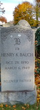 Henry Kingsley Bauch