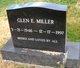 Glen E Miller