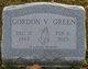 Gordon V Green
