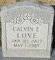 "Calvin Elton ""Kaki"" Love"