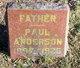 Profile photo:  Paul Anderson
