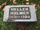 Profile photo:  Hellen <I>Herkimer</I> Holmes
