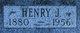 Profile photo:  Henry John Ahrnsbrak