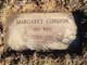 Margaret V <I>Condon</I> Bush