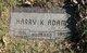 Harry Keller Adams