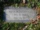 Profile photo:  Anna Margaret <I>Morrow</I> Rothrock