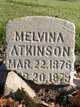 Profile photo:  Melvina Atkinson