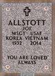 MSGT Joe Allstott