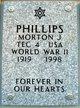 Morton J Phillips