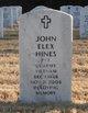 Profile photo:  John Elex Hines
