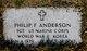 Philip F Anderson
