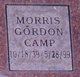 Profile photo:  Morris Gordon Camp