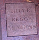 "Profile photo:  Lillie ""Bill"" <I>Robbins</I> Beggs"