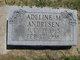 Profile photo:  Adeline M. Andresen