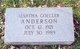 Profile photo:  Martha <I>Goeller</I> Anderson