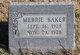 Merrie Baker