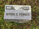 Minnie E. <I>Hoyt</I> Fenner