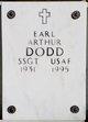 Profile photo:  Earl Arthur Dodd