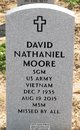 SGM David Nathaniel Moore