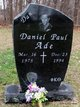 "Profile photo:  Daniel Paul ""Dan"" Ade"