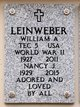 "Profile photo:  William A. ""Bill"" Leinweber"