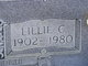 Lillie C. Paschall