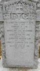 Elizabeth <I>Corbett</I> Lye