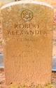 Profile photo:  Robert Alexander