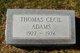 Thomas Cecil Adams