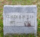 Profile photo:  Claude Burdette Butler