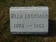 Ella <I>Sutherland</I> Lockman