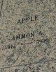 Profile photo:  Ammon Alan Apple, II