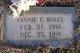 Profile photo:  Fannie C. Boles