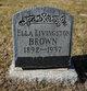Ella <I>Livingston</I> Brown
