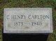 Charles Henry Carlton