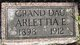 Profile photo:  Arlettia E. Pratt